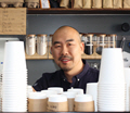 Lin, business owner of Coffee Shop.